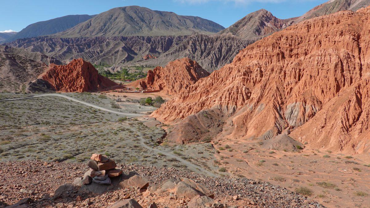 Bergpanorama Nordwest-Argentinien
