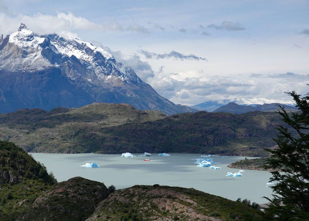 Lago Grey Nationalpark Torres del Paine Patagonie Chile